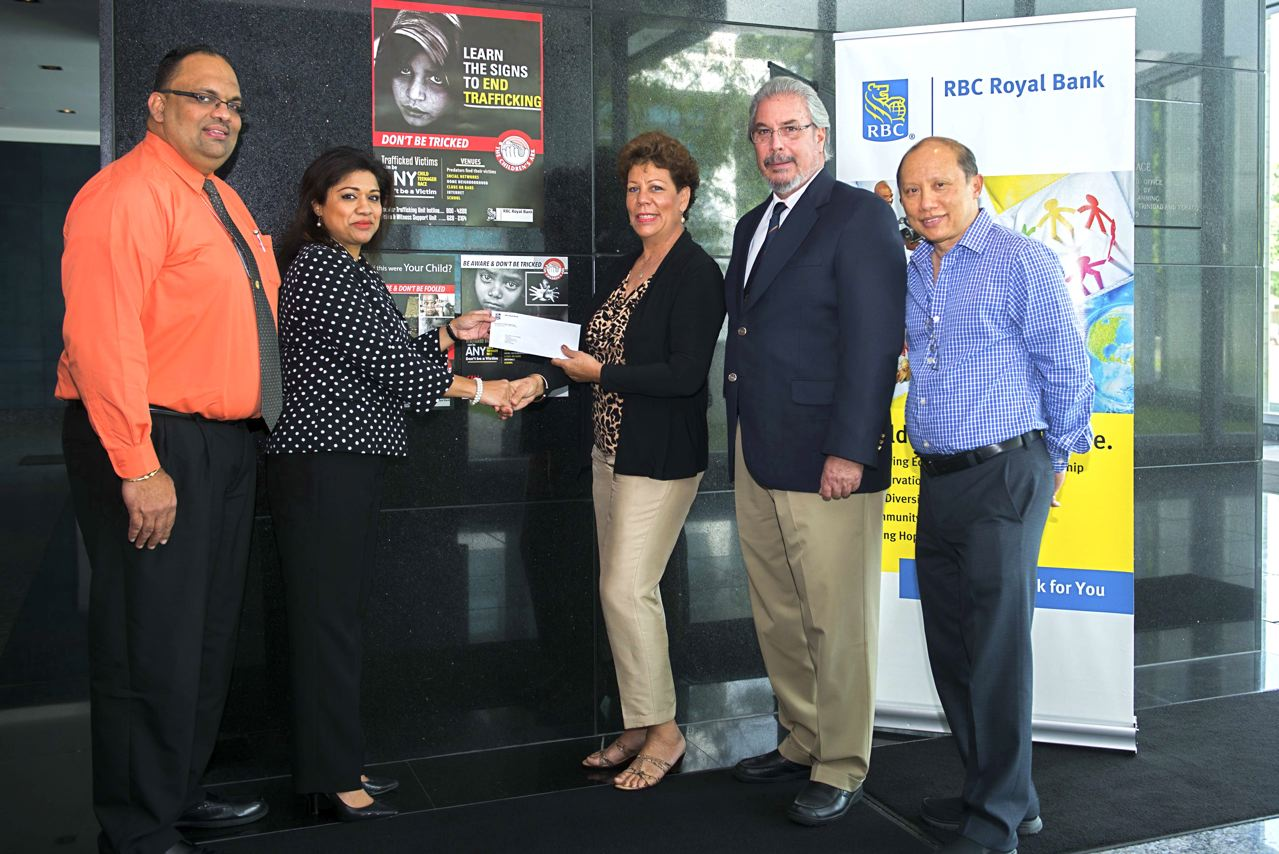 RBC cheque for children's ark