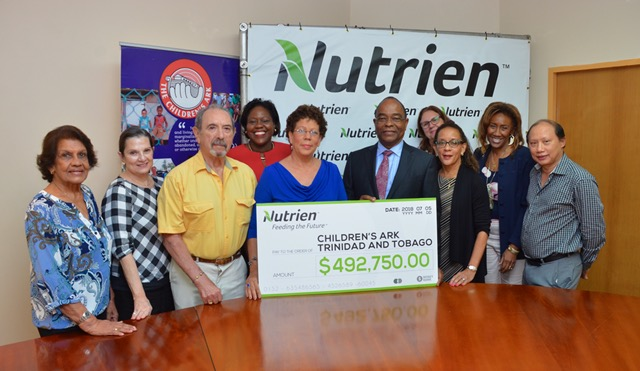 Donation from Nutrien Company